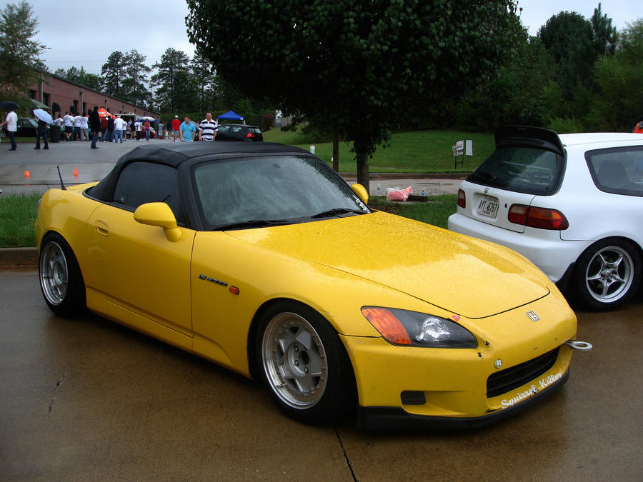 Yellow Honda S2000 by apexi957 ...