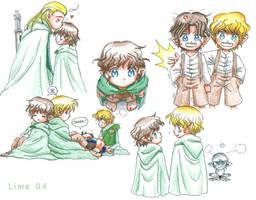 Kawaii Little Hobbits by The-Hobbit-Love-Club