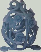Blue Rose Egg by Ranasp