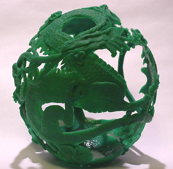 Dragon Ostrich Egg