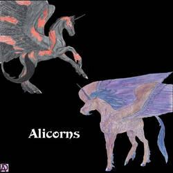 Beastiary: Alicorns by Ranasp