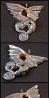 Dragon Pendant Pewter