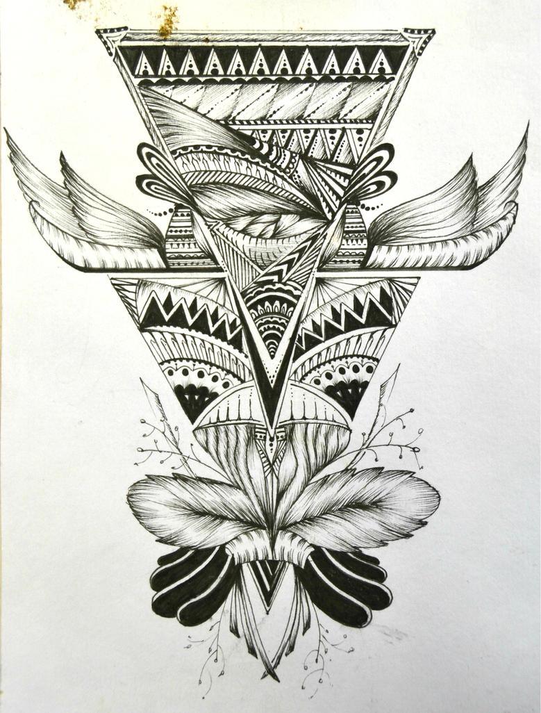 geometric design by lushinnickii