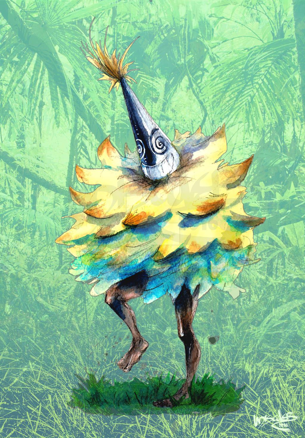 DUK DUK dancer by UNDISCOVER-art on DeviantArt