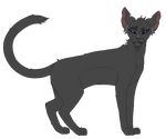 ~| Crowfeather| Warriors references by LysitheaWO