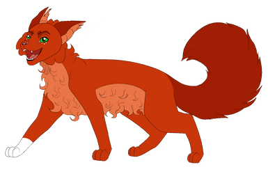 ~| Squirrelflight | Warriors references by LysitheaWO