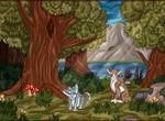 ~ Jaypaw and Leafpool by LysitheaWO