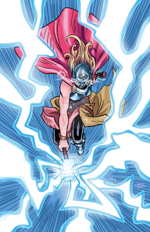 Thor (Jane Foster) by geeko357