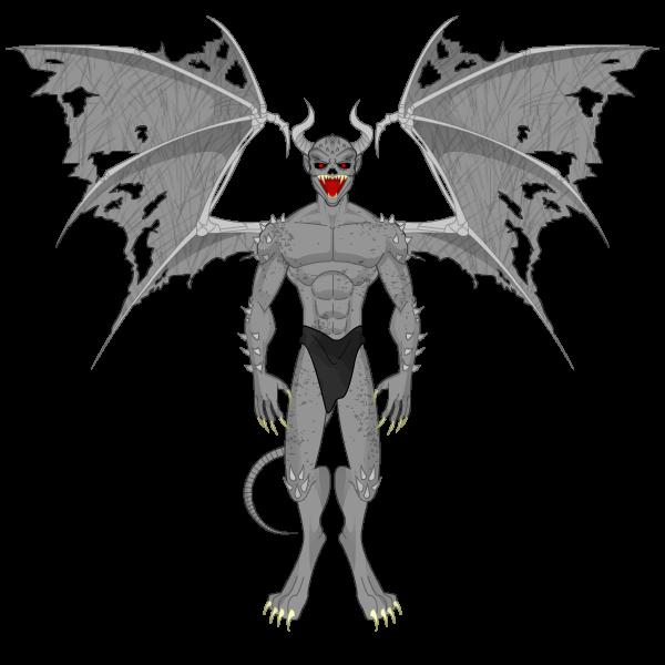 Segundo Desafio Força Heróica Gargoyle_by_emertales-d7axnkj