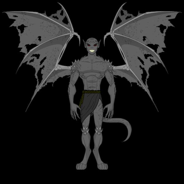 Segundo Desafio Força Heróica Gargoyle_2_by_emertales-d7b5xvk
