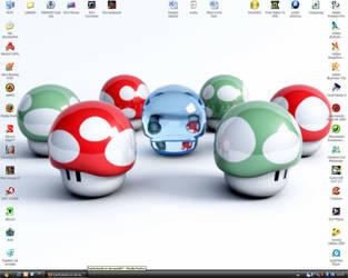 Desktop by DarkKokeshi