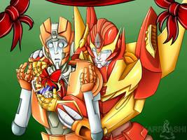 Transformers Secret Santa 2014 by Karra-shi