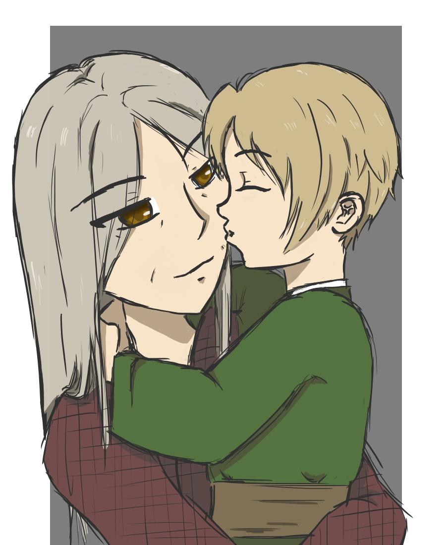 Reiko And Takashi by SkyeSyren
