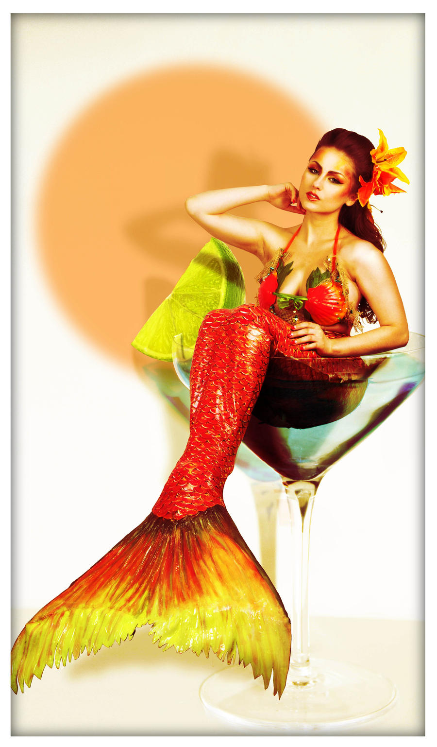 pin up mermaid by Monsieur-T on DeviantArt