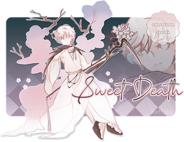 [OPEN] Adoptable Paypal Auction: Sweet Death by Keffolo