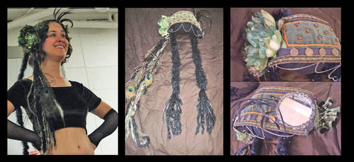 Tribal Bellydance Headress by Spacewoman-Spiff