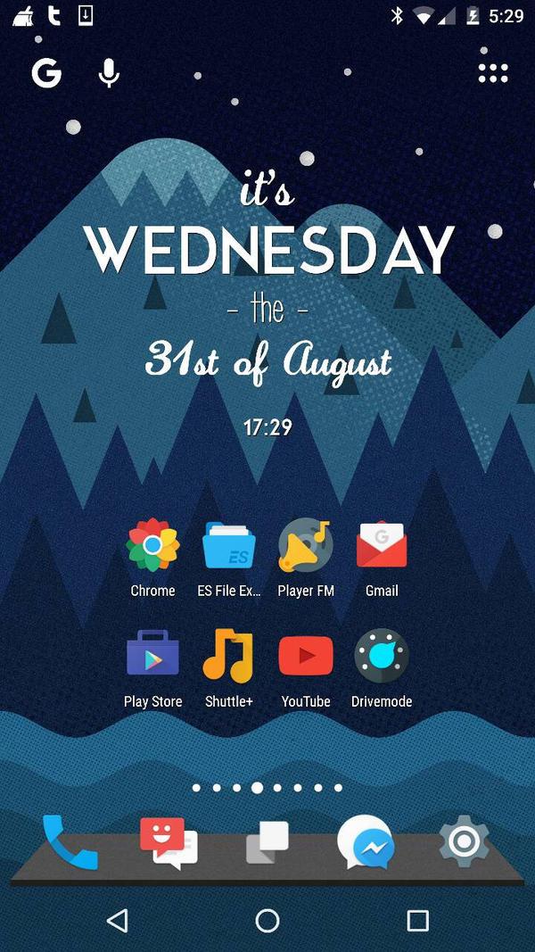 August Mobile Screenshot by 1TsteIsNvrEnuf