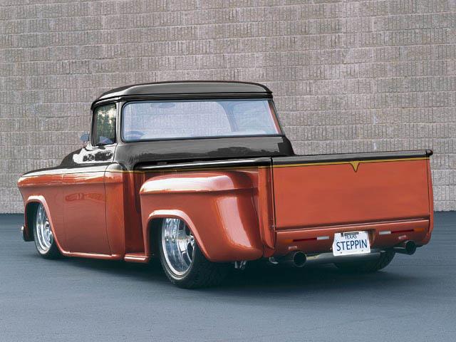 Chevy Truck Custom Rear By Michaelwarren