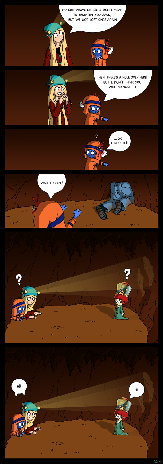 The Cavern - part 1/2 by cecile-appert
