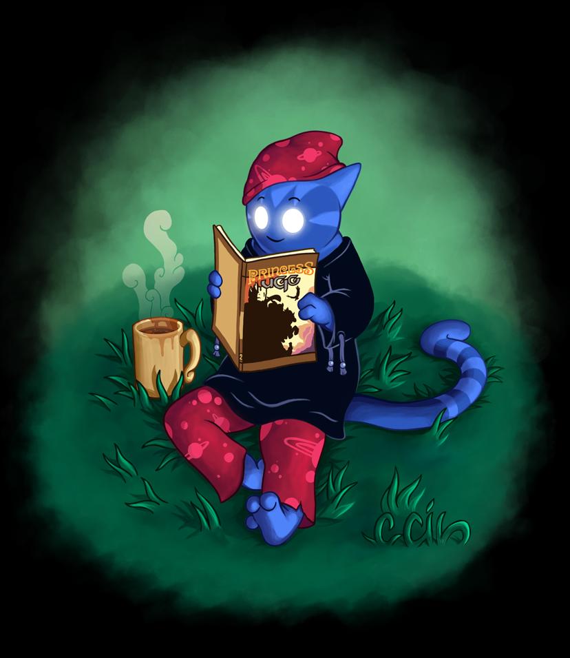 Reading break by cecile-appert