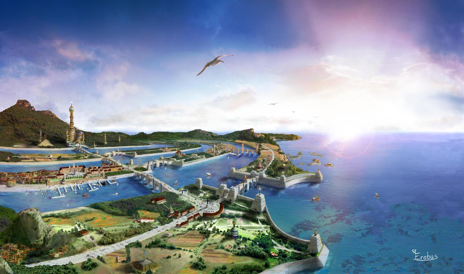 Atlantis - Poseidonis by Erebus-art