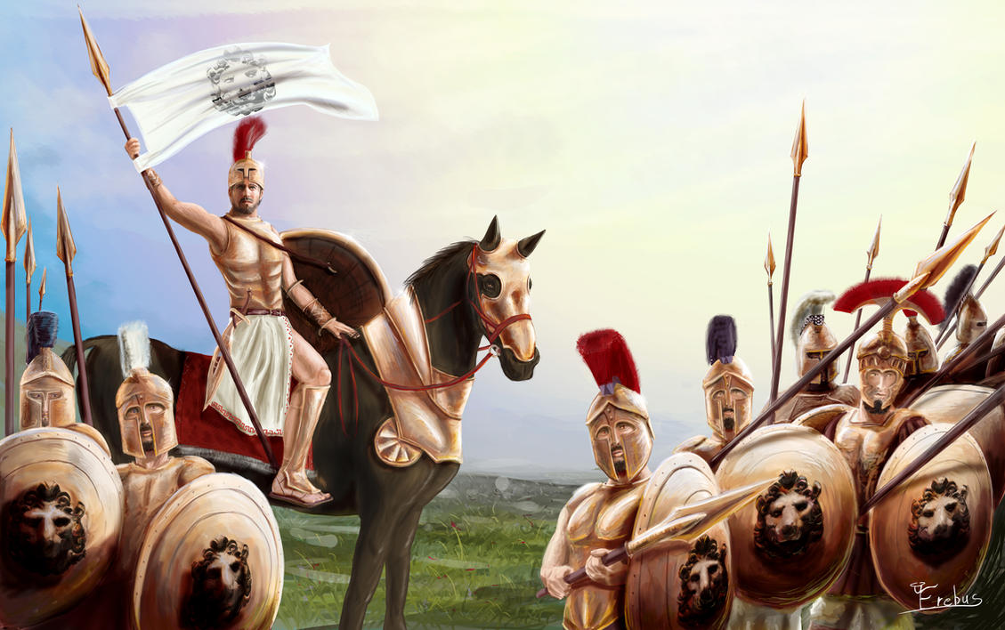 Greek Strategos by Erebus74