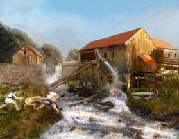 Old Sawmill by Erebus-art