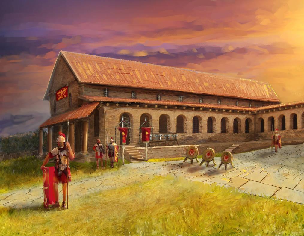 Roman Armory by Erebus-art