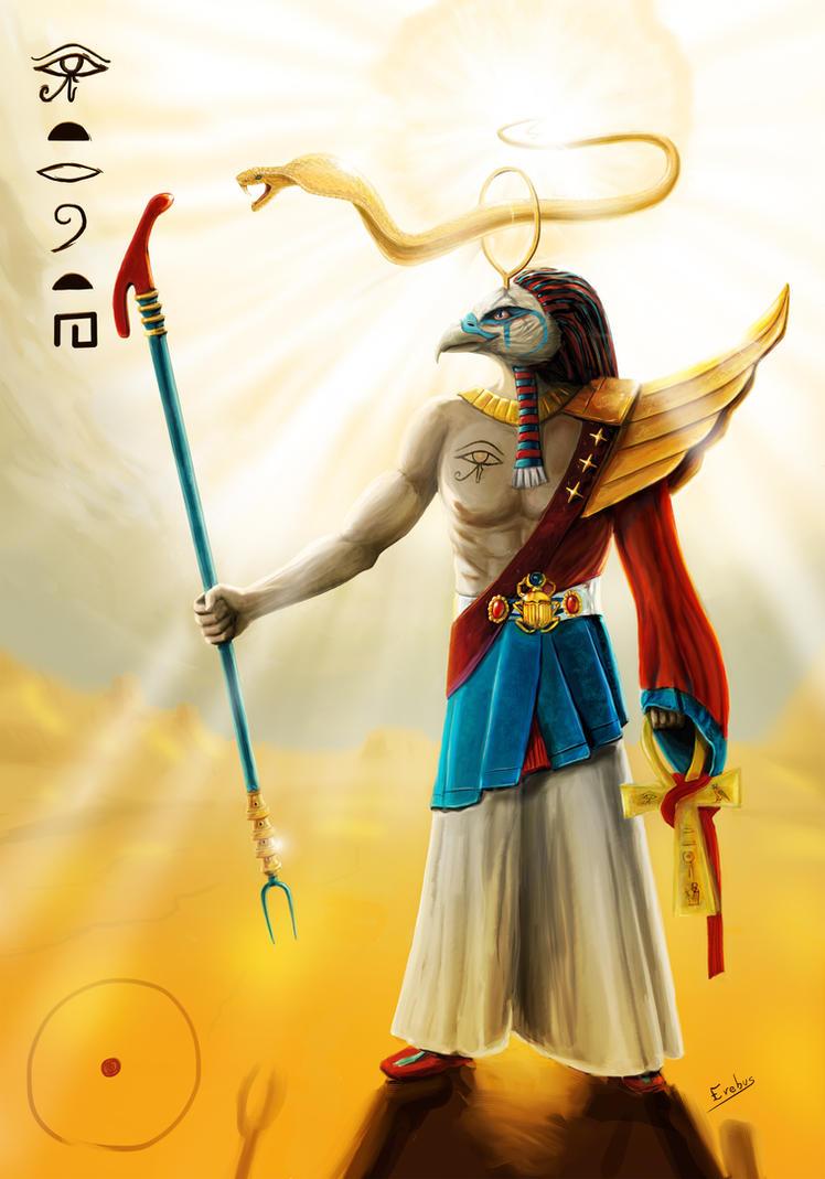 Ra - Sun God by Erebus-art