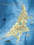 Map of Aztlan/Atlantis