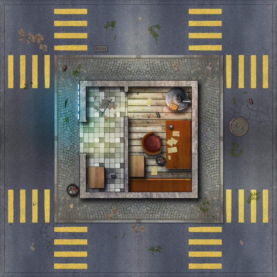 City Tile1-office by Erebus-art