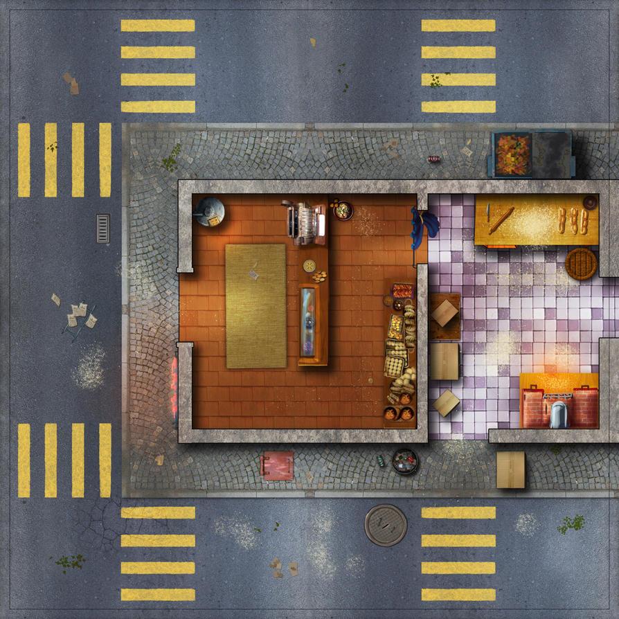 City Tile 3-baker by Erebus-art
