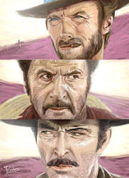 The good the bad the ugly v2 - Tribute to Leone