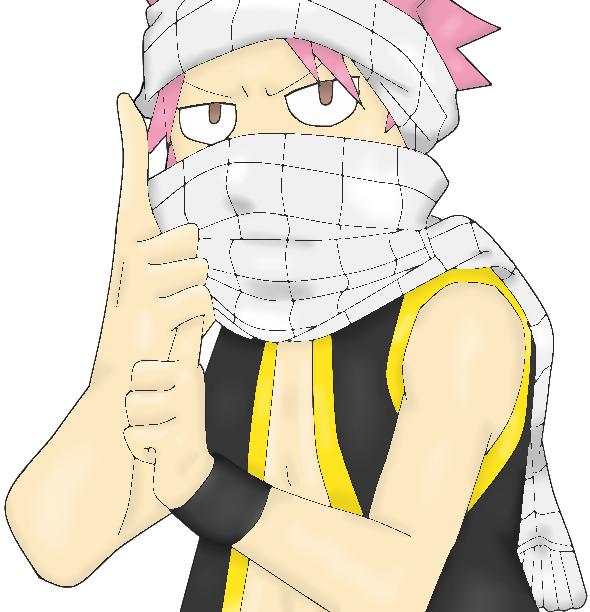 natsu is ninja by alexanj on deviantart