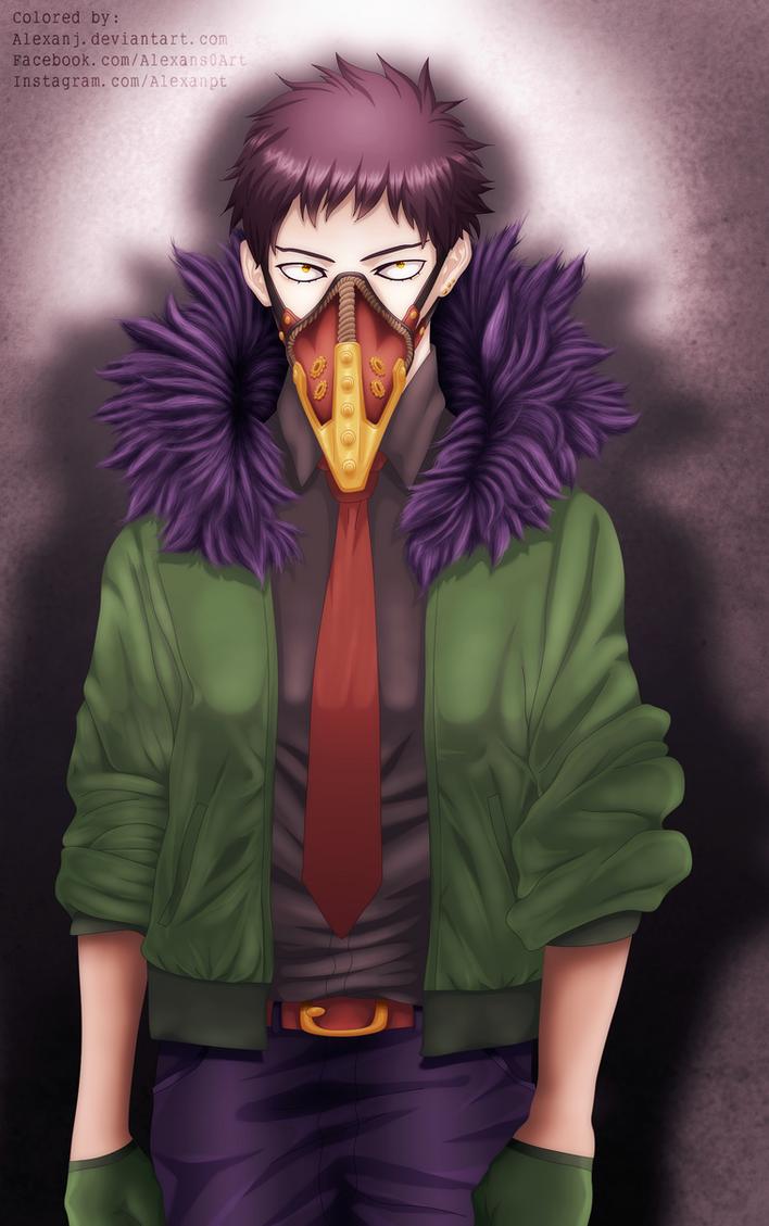 Boku No Hero Academia: Chisaki (Overhaul) by AlexanJ