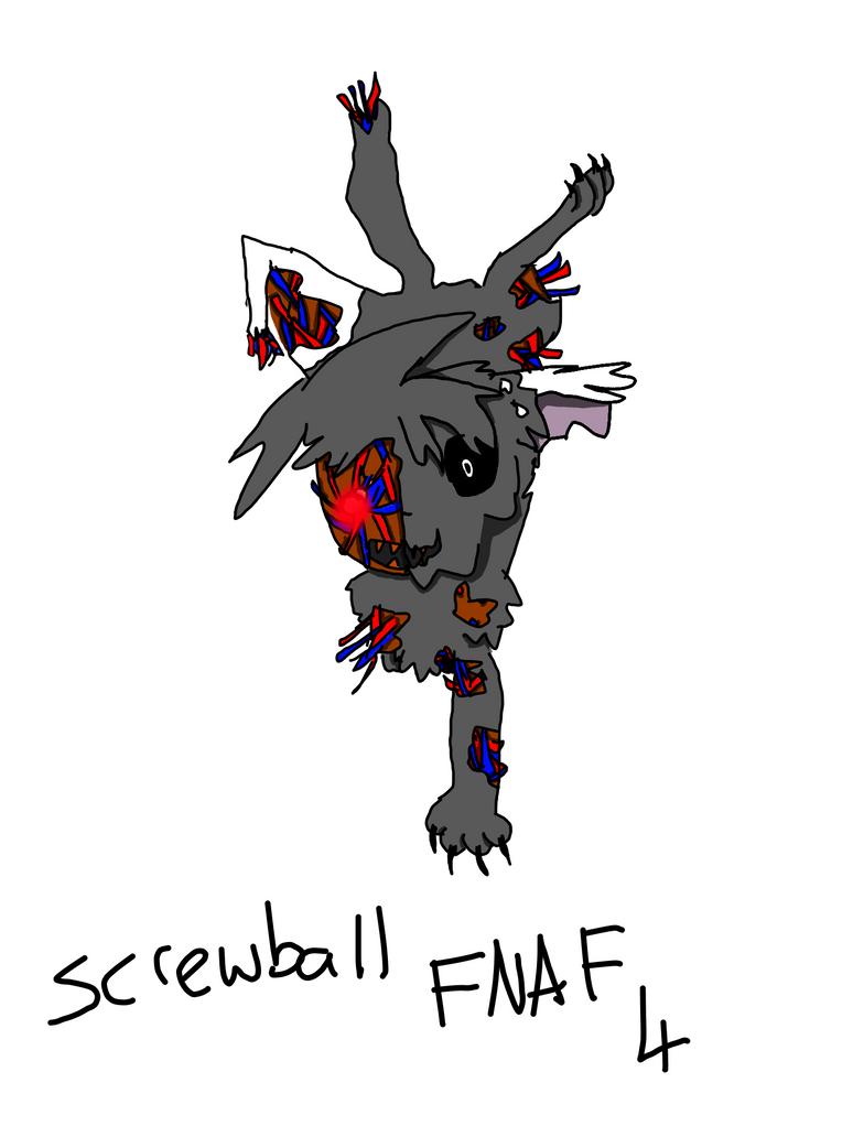 Screwball Fnaf 4 by zencat61