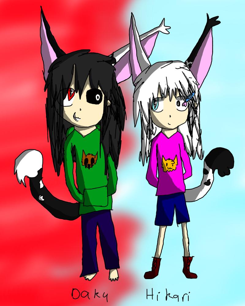 Daku And Hikari by zencat61