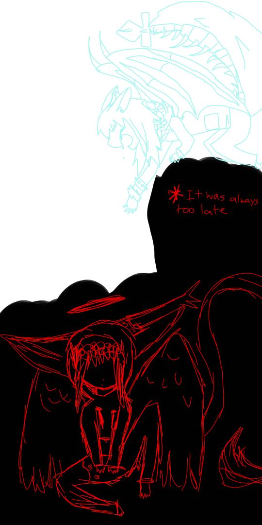 It Was Always Too Late by zencat61