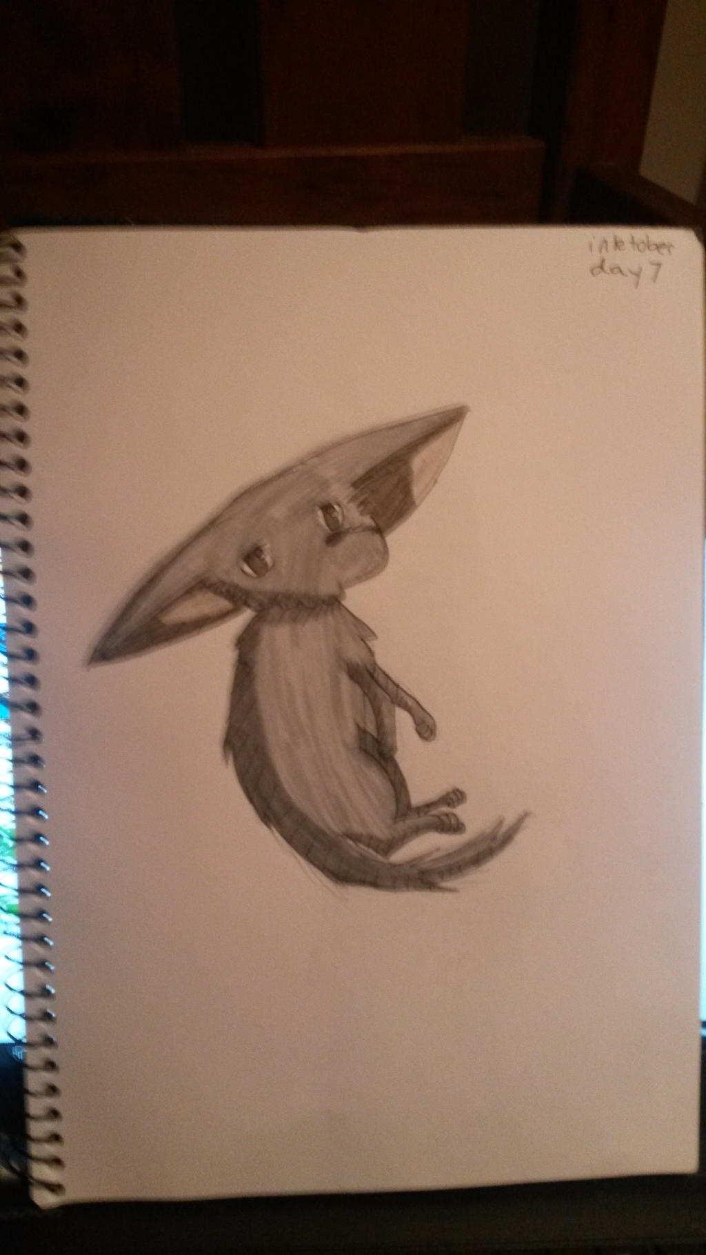 Inktober Day 7-Small Fox by zencat61