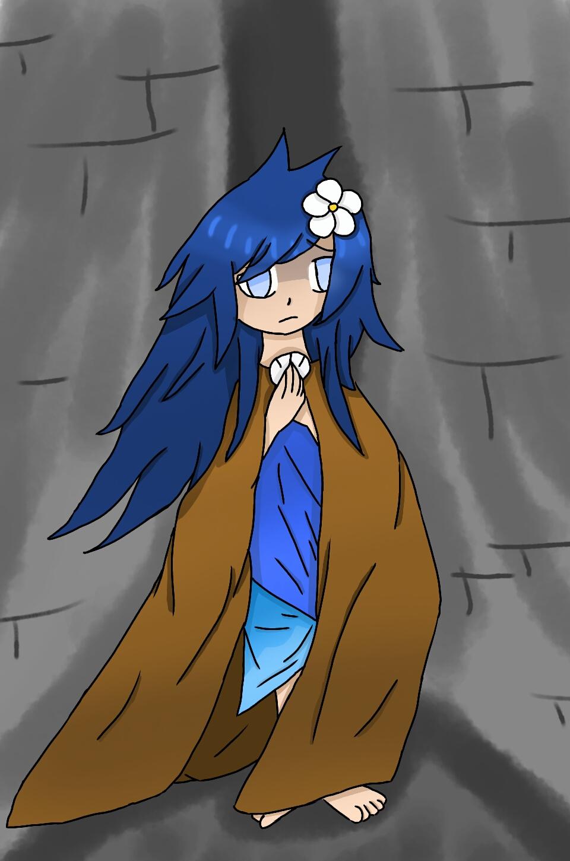 The girl by zencat61