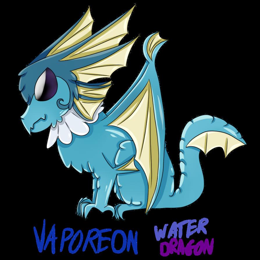 Vaporeon Dragon by zencat61