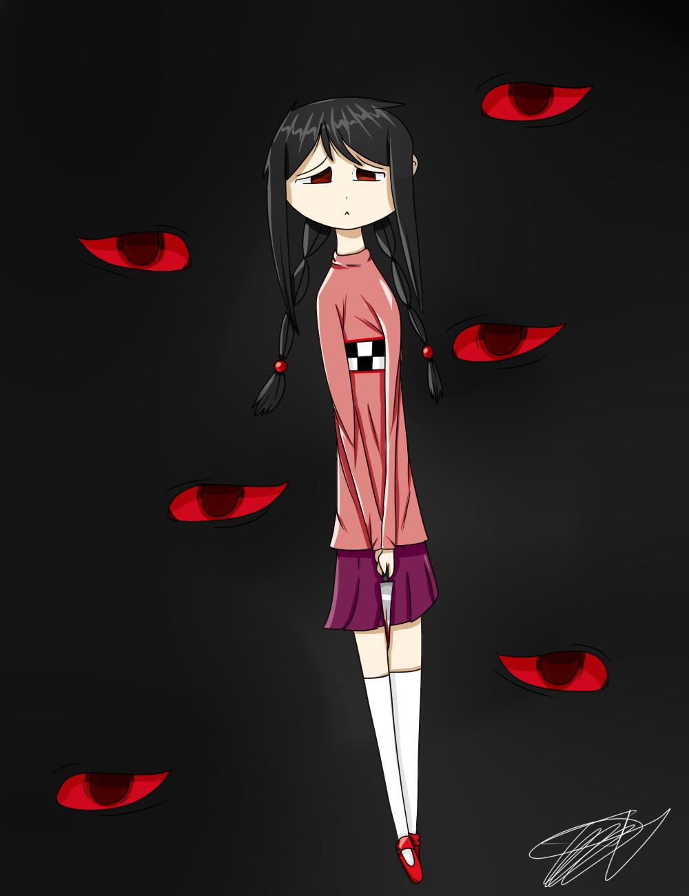 Me as yume nikki by zencat61