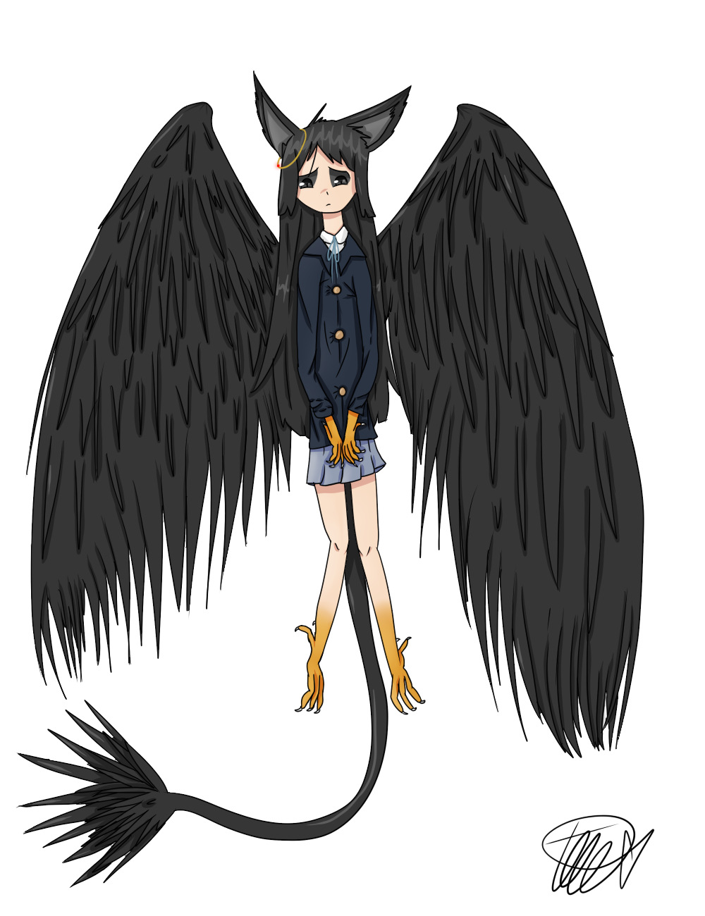 Mio Bird Small Redesign  by zencat61