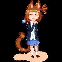 Cat-on!-Ritsu by zencat61