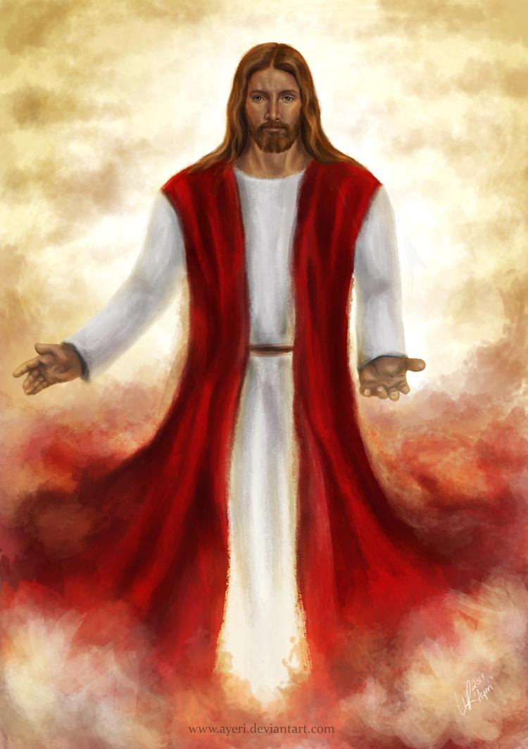 Jesus christ by ayeri on deviantart voltagebd Images