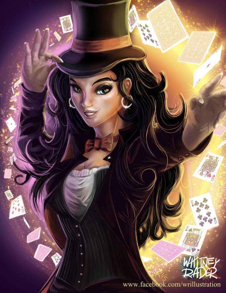 Zatanna Mistress Of Magic Full Color By Ayeri On