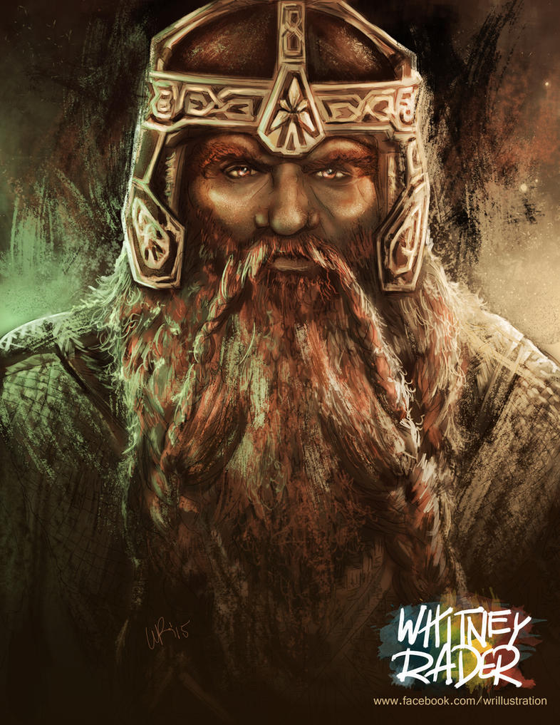 Gimli Lord Of The Rings Very Fast Short Bursts