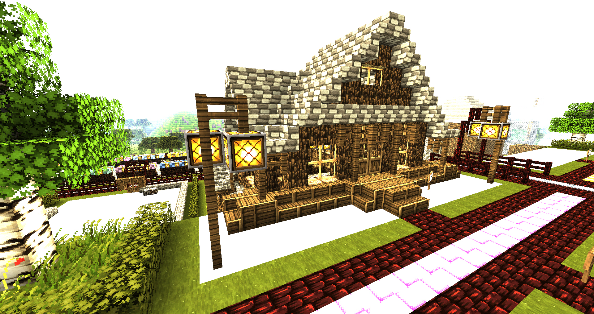 Cool Wallpaper Minecraft Houses - minecraft_wallpapers___house_by_nsgeo-d4m7xfv  Trends_163188.jpg