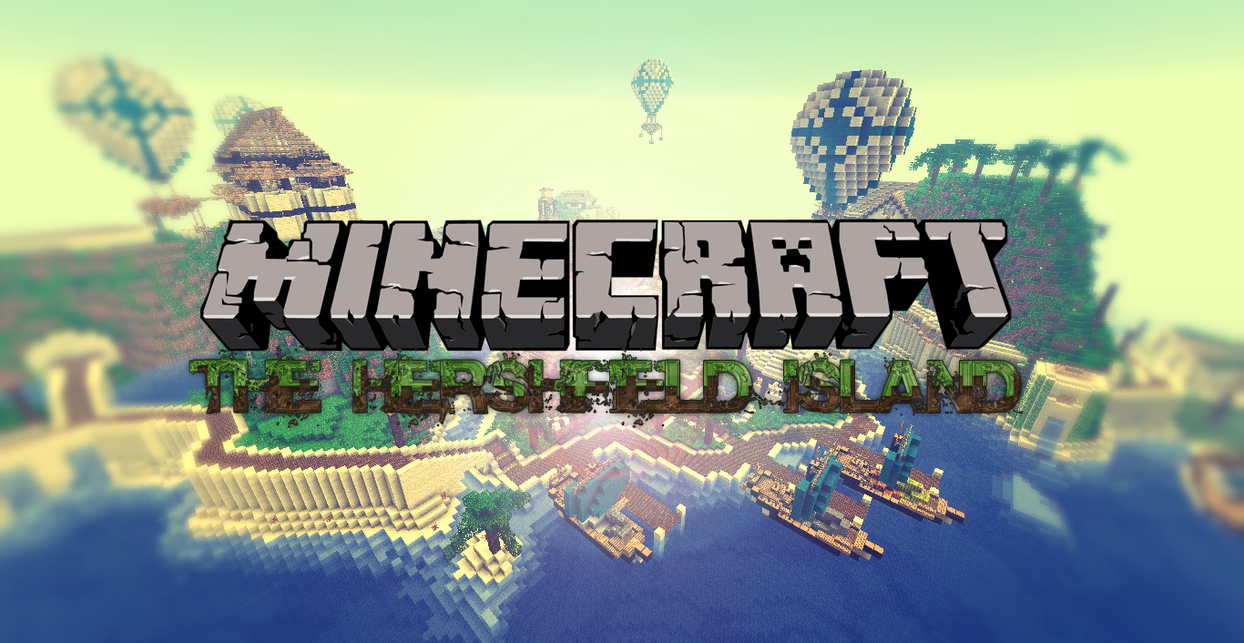 Top Wallpaper Minecraft Poster - minecraft___the_hershfield_island___poster_by_nsgeo-d50em5x  You Should Have_282930.png