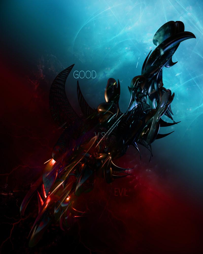 Good Vs. Evil By Paradox828 On DeviantArt